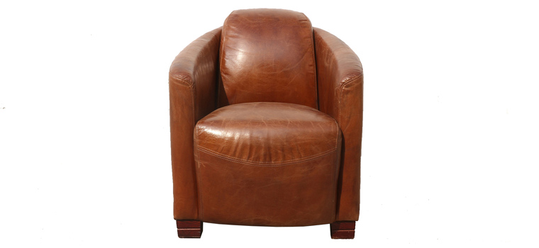 Cognac Club Chair – 2026