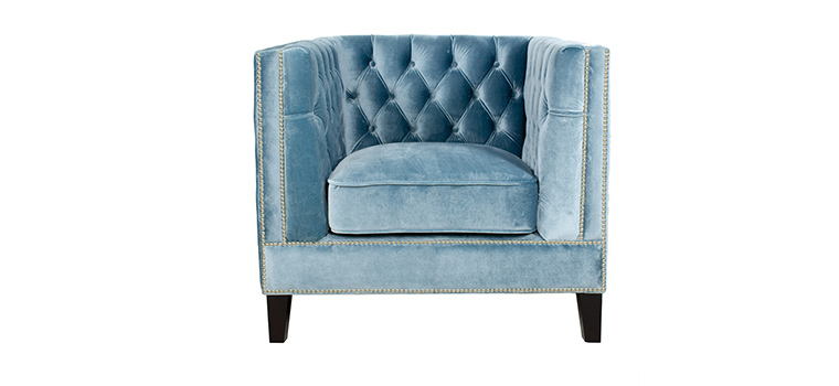 Victoria Tufted Arm Chair-1011