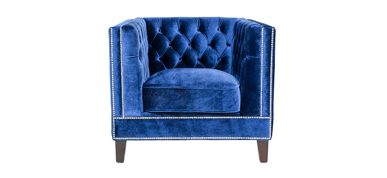 Victoria Tufted Arm Chair – 1013