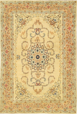 Semi Antique Kashan – 19827